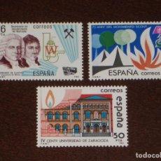 Sellos: NUEVO - EDIFIL 2715/2717 SIN FIJASELLOS - SPAIN 1983 MNH - EFEMERIDES /M. Lote 157117577