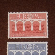 Sellos: NUEVO - EDIFIL 2756/2757 SIN FIJASELLOS - SPAIN 1984 MNH - EUROPA /M. Lote 184047873