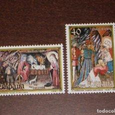 Sellos: NUEVO - EDIFIL 2776/2777 SIN FIJASELLOS - SPAIN 1984 MNH - NAVIDAD /M. Lote 157120784