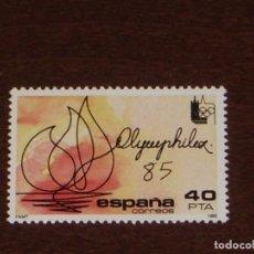 Sellos: NUEVO - EDIFIL 2781 SIN FIJASELLOS - SPAIN 1985 MNH - OLYMPHILEX /M. Lote 184045825