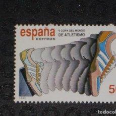 Sellos: NUEVO - EDIFIL 3023 SIN FIJASELLOS - SPAIN 1989 MNH - ATLETISMO /M. Lote 73602143