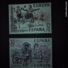 Sellos: ESPAÑA.- AÑO 1981 EDIFIL 2615 Y 2616. Lote 73614923