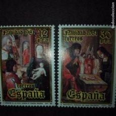 Sellos: ESPAÑA.- AÑO 1981 EDIFIL 2633 Y 2634. Lote 73615167
