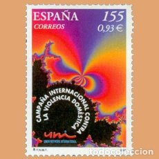 Sellos: NUEVO - EDIFIL 3779 SIN FIJASELLOS - SPAIN 2001 MNH - VIOLENCIA DOMESTICA /M. Lote 227078945