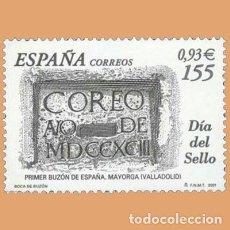 Sellos: NUEVO - EDIFIL 3780 SIN FIJASELLOS - SPAIN 2001 MNH - DIA DEL SELLO /M. Lote 227078970