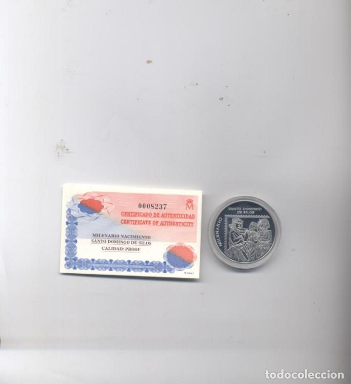 Sellos: PACK PRUEBA ESPECIAL DEL MILENARIO DEL NACIMIENTO DE SANTO DOMINGO DE SILOS-EDIFIL 3817-3819 - Foto 4 - 73845131