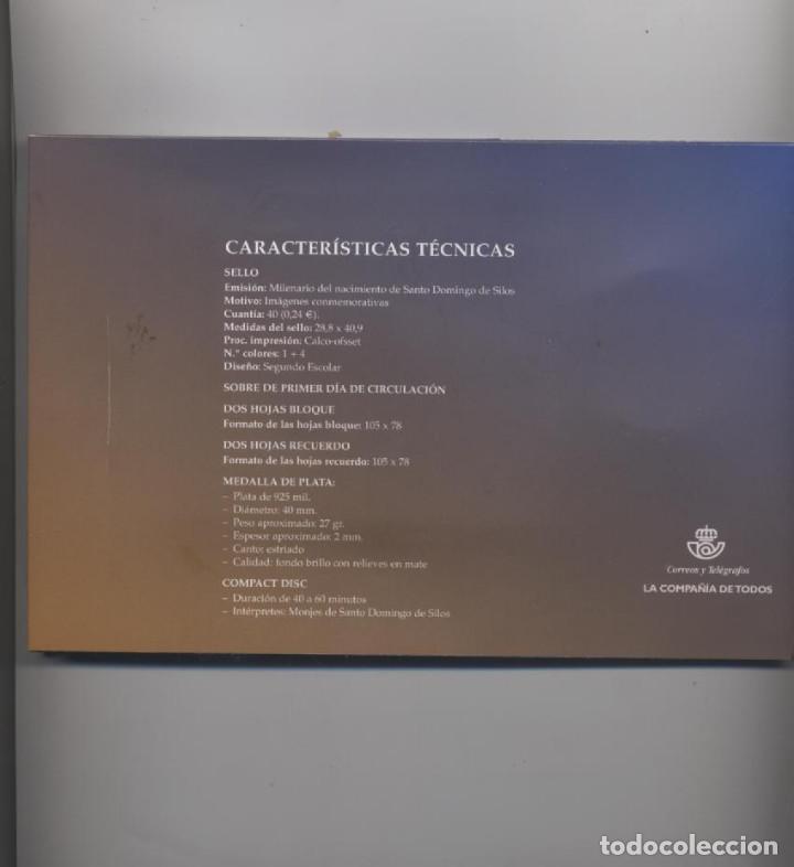 Sellos: PACK PRUEBA ESPECIAL DEL MILENARIO DEL NACIMIENTO DE SANTO DOMINGO DE SILOS-EDIFIL 3817-3819 - Foto 7 - 73845131