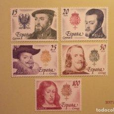 Sellos: ESPAÑA - 1979 - REYES DE ESPAÑA. CASA DE AUSTRIA - EDIFIL 2552 A 2556. Lote 73853715