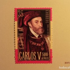 Sellos: ESPAÑA - 2000 - V CENTENARIO NACIMIENTO CARLOS V - EDIFIL 3697. Lote 73908171