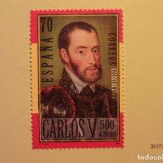 Sellos: ESPAÑA - 2000 - V CENTENARIO NACIMIENTO CARLOS V - EDIFIL 3698. Lote 73908427