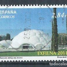 Sellos: R12/ ESPAÑA USADOS 2011, EXFILNA 2011. Lote 73927143