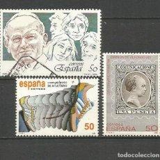 Sellos: ESPAÑA EDIFIL NUM. 3022 , 3023 Y 3024 3 SERIES COMPLETAS USADAS. Lote 73985899