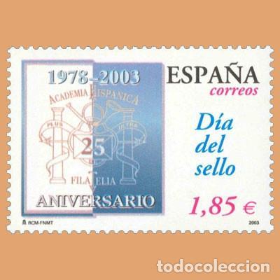 NUEVO - EDIFIL 3980 SIN FIJASELLOS - SPAIN 2003 MNH - DIA DEL SELLO /M (Sellos - España - Juan Carlos I - Desde 2.000 - Nuevos)