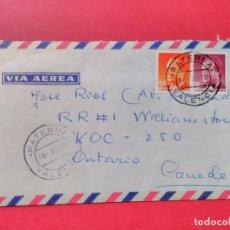 Sellos: CARTA CIRCULADA CON MATASELLOS FECHADOR DE PATERNA, VALENCIA.. Lote 74244119