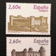 Sellos: NUEVO - EDIFIL 4439/4440 SIN FIJASELLOS - SPAIN 2008 MNH - CASTILLOS /M. Lote 74311931
