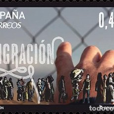 Sellos: SPAIN 2016 - MIGRATION MNH. Lote 74429467