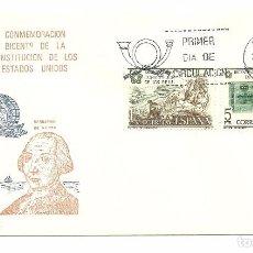 Sellos: S.P.D. BICENTENARIO CONSSTITUCION EE.UU... Lote 74665875