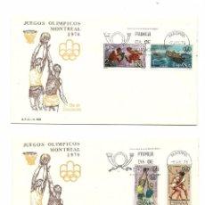 Sellos: DOS S.P.D. JUEGOS OLIMPICOS DE MONTREAL 1976. Lote 74666683