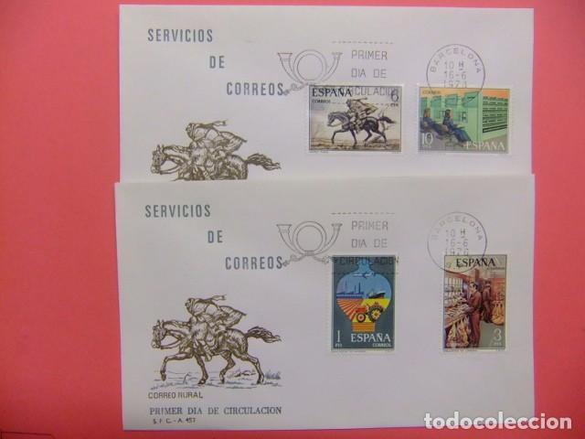 ESPAÑA ESPAGNE FDC 1976 SERVICIOS DE CORREOS EDIFIL Nº 2329 / 2332 (Sellos - España - Juan Carlos I - Desde 1.975 a 1.985 - Cartas)
