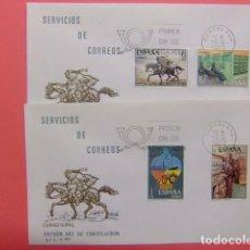 Sellos: ESPAÑA ESPAGNE FDC 1976 SERVICIOS DE CORREOS EDIFIL Nº 2329 / 2332. Lote 74959403