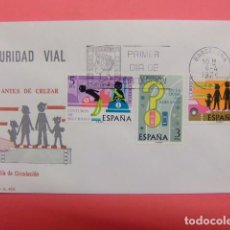 Sellos: ESPAÑA ESPAGNE FDC 1976 SEGURIDAD VIAL - EDIFIL Nº 2312 / 14. Lote 74972771