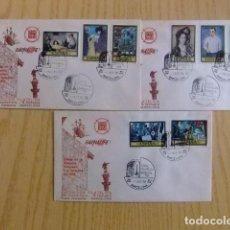 Sellos: ESPAÑA FDC 1978 PABLO RUIZ PICASSO / EXPO FILATELICA / BARCELONA EDIFIL Nº 2481 /88 YV. 2127/34. Lote 75063455