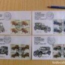 Sellos: ESPAÑA ESPAGNE FDC 1977 XII SALON DEL AUTOMOVIL AUTOMOBILES ANCIENNES EDIFIL Nº 2409 /12 YV 2048/51 . Lote 75071115