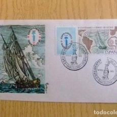 Sellos: ESPAÑA ESPAGNE FDC 1977 BICENTENARIO CORREO DE INDIAS / EXPO FILATELICA / EDIFIL 2437 YV 2083. Lote 75073143