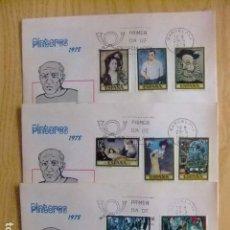 Sellos: ESPAÑA 1978 FDC HOMENAJE A PABLO RUIZ PICASSO / FDC / BARCELONA EDIFIL Nº 2481 / 2488 . Lote 75060895