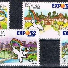 Sellos: 0161. SERIE COMPLETA EXPO DE SEVILLA 1990. CURRO, NUM 3050-3053 **. Lote 75310167