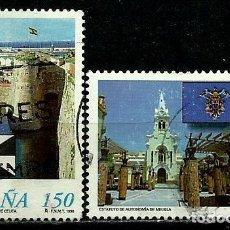 Sellos: ESPAÑA 1998- EDI 3534/35 (SERIE- CEUTA MELILLA-) USADA. Lote 101316206
