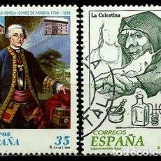 Sellos: ESPAÑA 1998- EDI 3537-38 (SELLOS-CENTENARIOS-LITERATURA) USADOS. Lote 101316440