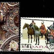 Sellos: ESPAÑA 1998- EDI 3595A-98 (SELLOS-SEO-N. MEXICO) USADOS. Lote 101318166