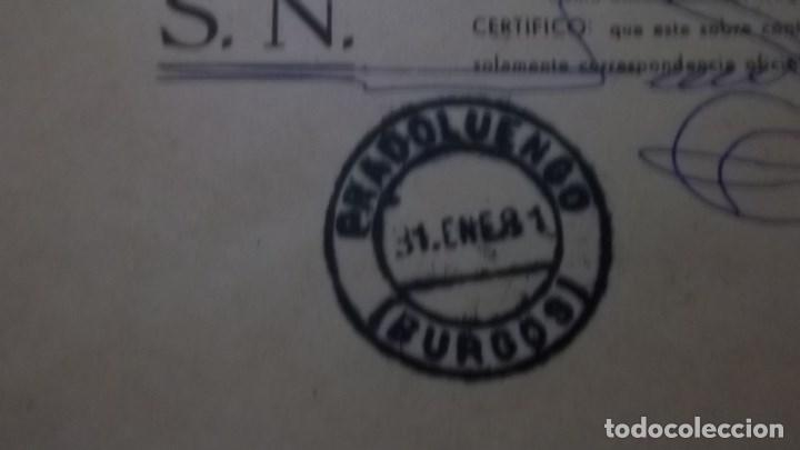 Sellos: CARTA PRADOLUENGO BURGOS MATASELLOS HISTORIA POSTAL FRANQUICIA CORREOS - Foto 2 - 75933819