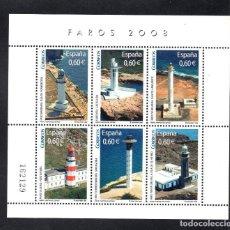 Sellos: ESPAÑA 4430** - AÑO 2008 - FAROS ESPAÑOLES. Lote 76446655