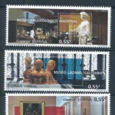 Sellos: R12/ ESPAÑA EN NUEVO** 2015, EDF, 4953/55, MUSEOS. Lote 76501994