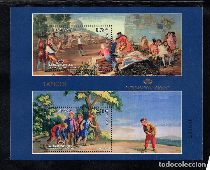 ESPAÑA 4495** - AÑO 2009 - PATRIMONIO NACIONAL - TAPICES - GOYA - ANTONIO GONZALEZ (Sellos - España - Juan Carlos I - Desde 2.000 - Nuevos)
