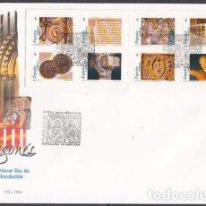 Sellos: 2004 SOBRE PRIMER DIA EDIFIL 4052/59 NUEVO. ROMANICO. Lote 110341548
