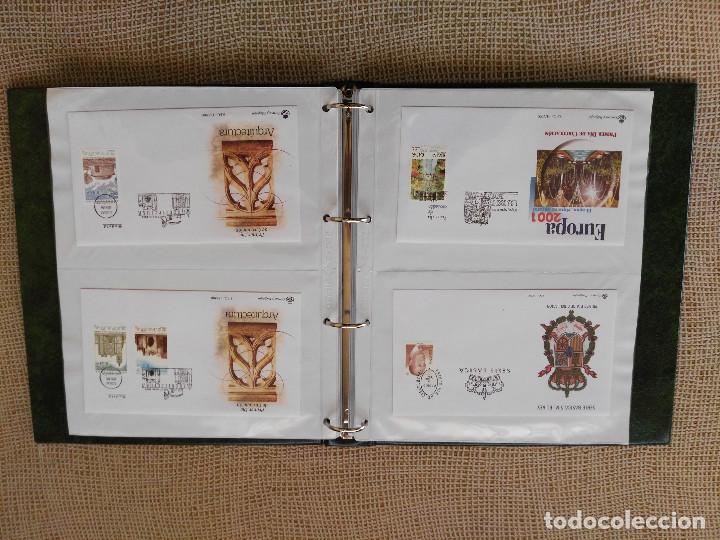 Sellos: SOBRES PRIMER DIA AÑO 2001 (COMPLETO). LUJO. LEER DESCRIPCION. FALTA SPD 3818/19 - Foto 2 - 76894263
