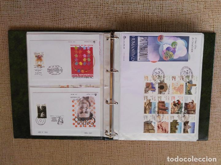 Sellos: SOBRES PRIMER DIA AÑO 2001 (COMPLETO). LUJO. LEER DESCRIPCION. FALTA SPD 3818/19 - Foto 4 - 76894263