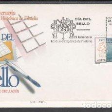 Sellos: 2003 SOBRE PRIMER DIA EDIFIL 3980 NUEVO. DIA DEL SELLO. Lote 77595429