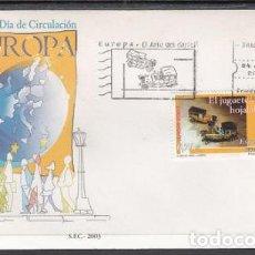 Sellos: 2003 SOBRE PRIMER DIA EDIFIL 3982 NUEVO. EUROPA. Lote 77595937