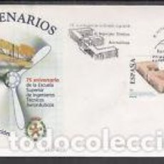 Sellos: 2003 SOBRE PRIMER DIA EDIFIL 4024 NUEVO. INGENIEROS AERONAUTICOS. Lote 77599945