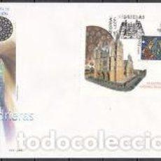 Sellos: 2003 SOBRE PRIMER DIA EDIFIL 4020 NUEVO.VIDRIERAS CATEDRAL SANTA MARIA. Lote 77603073