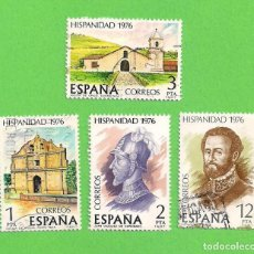 Sellos: EDIFIL 2371-2372-2373-2374. HISPANIDAD. COSTA RICA. (1976). - SERIE COMPLETA.. Lote 78341177