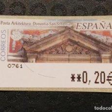 Francobolli: ATM NUEVO 2002 - POSTA ARKITEKTURA DONOSTIA. Lote 78676933