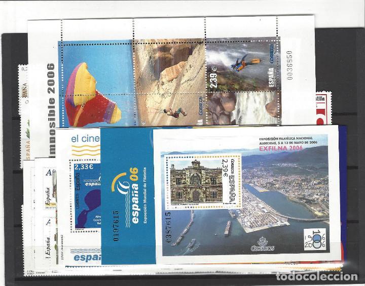 AÑO 2006 COMPLETO - NUEVO SIN FIJASELLOS - ESPAÑA MNH (Sellos - España - Juan Carlos I - Desde 2.000 - Nuevos)