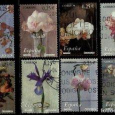 Sellos: ESPAÑA 2002- EDI 3869/76 (SERIE-FLORES) USADOS. Lote 101153986