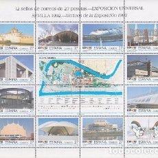 Sellos: [CF9010] ESPAÑA 1992, HB EXPO SEVILLA 1992 (MNH). Lote 79595225