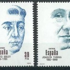 Sellos: ESPAÑA 1983 EDIFIL 2705/2708** CENTENARIOS. Lote 79962633